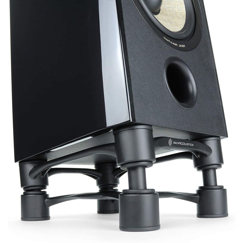 IsoAcoustics Aperta 200 Isolation Stands Black
