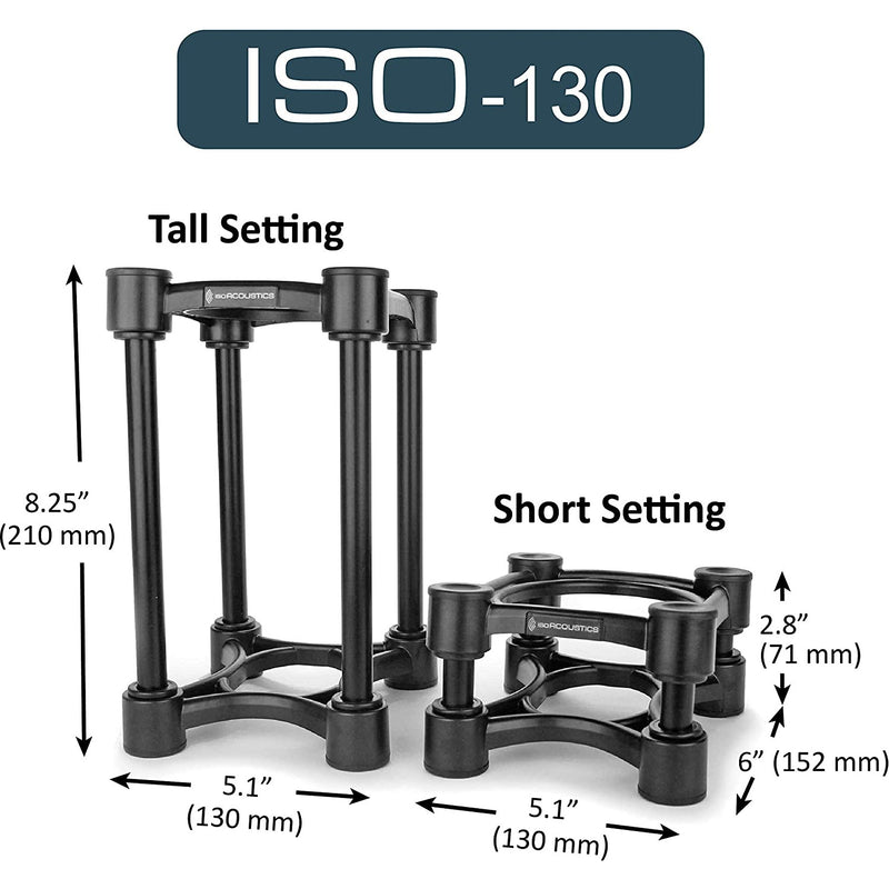 IsoAcoustics ISO-130 Pair