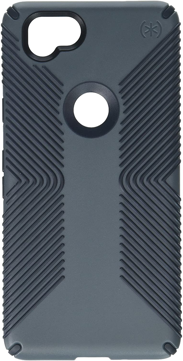 Speck Products Presidio Grip Cell Phone Case for Google Pixel 2 - Graphite Grey/Charcoal Grey