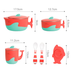 6PCS Baby Food Feeding Set