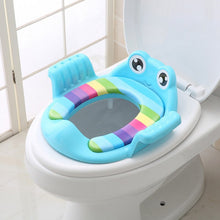 Load image into Gallery viewer, Cute Cartoon Baby Toilet Seat