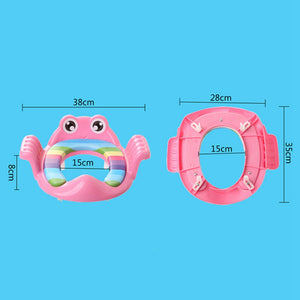 Cute Cartoon Baby Toilet Seat