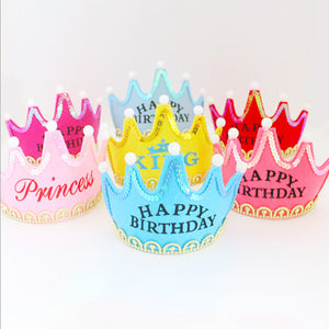 1st Birthday Party LED Crown