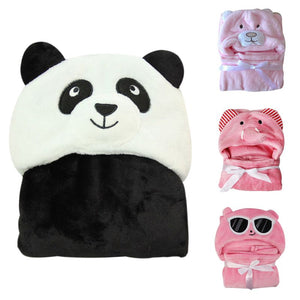Soft Baby Animal Shaped Hooded Towel