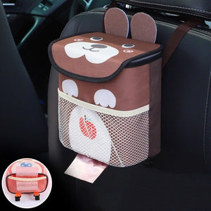 Backseat Car Trash Can Organizer For Kids