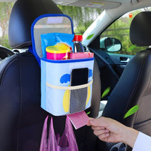 Load image into Gallery viewer, Backseat Car Trash Can Organizer For Kids