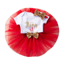 Load image into Gallery viewer, 1st Birthday Party Baby Girl Dress Set