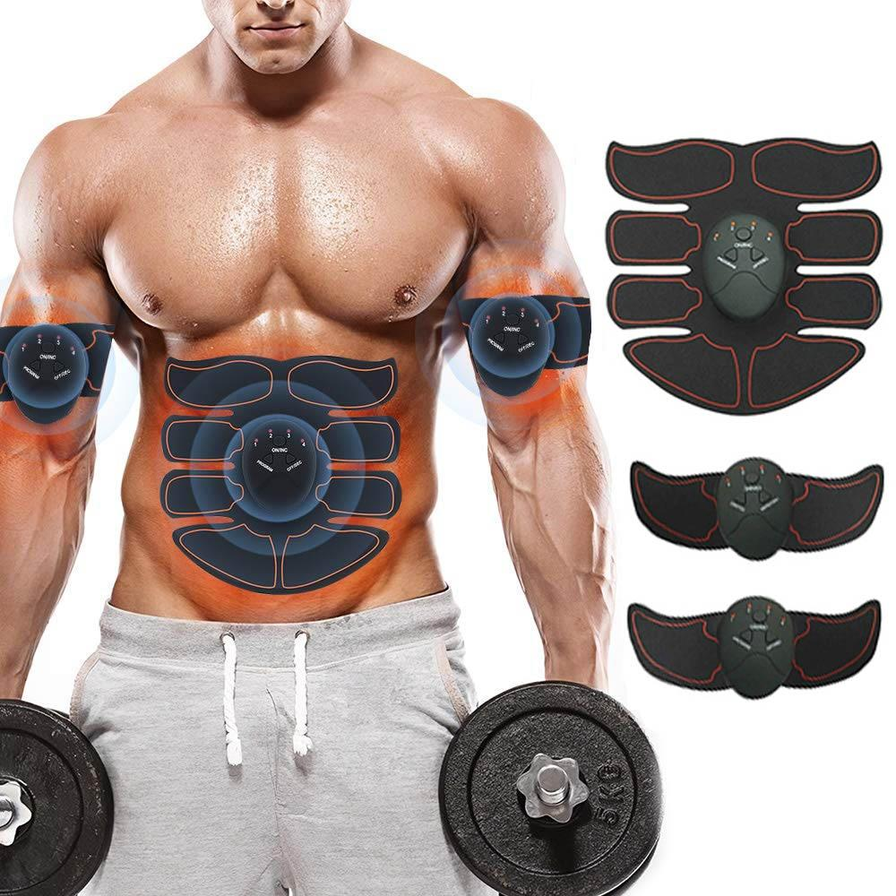 EMS Abdominal Muscle Stimulator - Arms, Legs & Buttocks Toner - Gymflexfitness