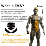 EMS Wireless Smart Vibrating Muscle Stimulator for Buttocks, Abs, Arms & Thighs - Gymflexfitness
