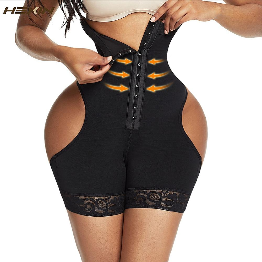 High Waist Tummy Control Workout Waist Trainer Booty Lift Underwear Shaper - Gymflexfitness