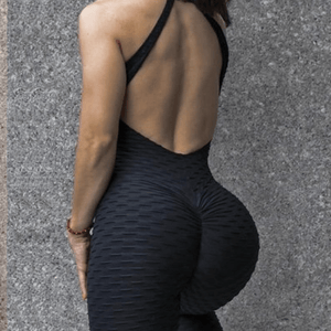 Textured Anti Cellulite Full BodySuit - Gymflexfitness
