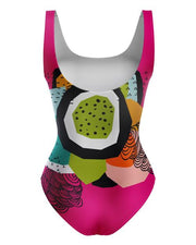 Custom Women's 1-Piece Swimsuit - AOP1PBS