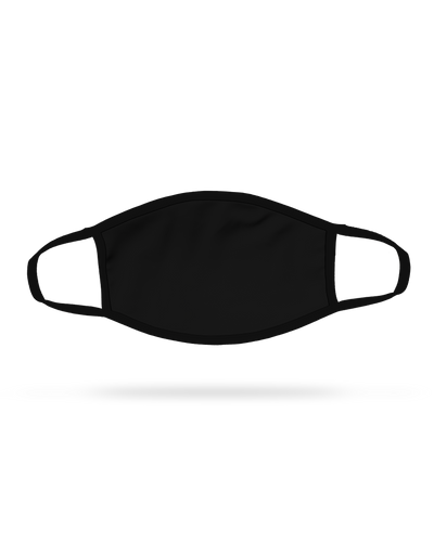 Black Cloth Face Mask