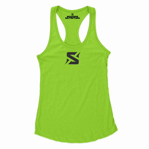 WOMENS BOLT TANK freeshipping - Scoops Nutrition