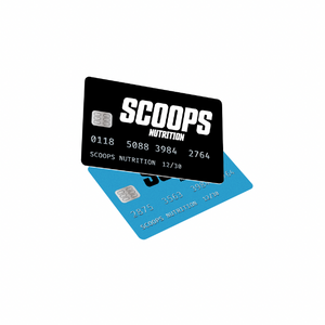 SCOOPS NUTRITION GIFT CARD freeshipping - Scoops Nutrition