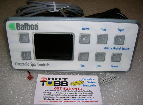 Balboa Emerald Spa DS4 Controller with serial cable