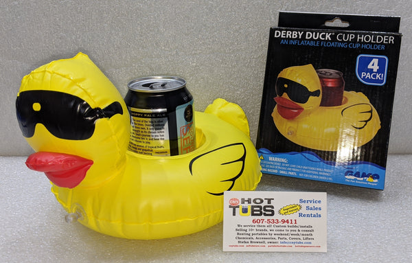 Derby Duck Cup Holder 4 pack