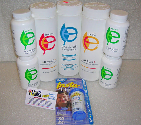 ecoone Spa Products Starter Kit