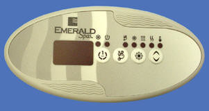 Emerald Spa Chateau 2008-2009 Gecko Topside Controller