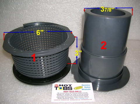 CMP Skimmer Basket 6 inch (#1 in photo)