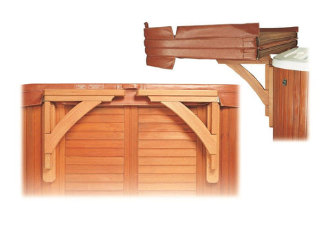 Easy Slider Redwood Cover Spa Shelf