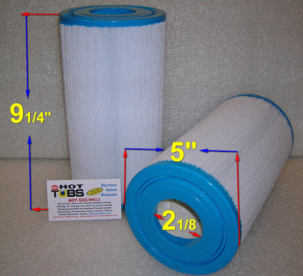 35 Sq. Ft. Spa Filter 9-1/4 inch x 5 inch
