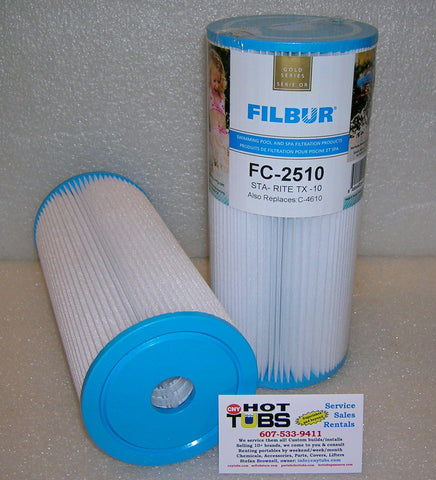 "15 Sq. Ft. Spa Filter 9-3/4"" x 4-1/2"""