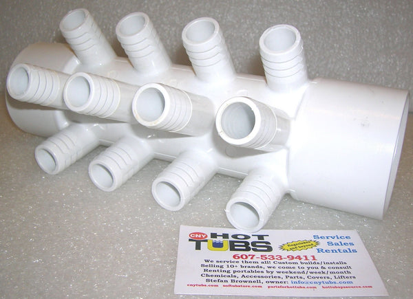 12 Port 3 4 Inch Pvc Jet Manifold Kit