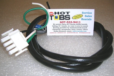 1 Speed Hot Tub Pump Cord