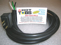 1 Speed Hydro-Quip Hot Tub Pump Power Cord