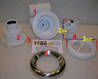 Wall Fitting Gasket for Hydro-Air Micro'ssage Spa Jets (#3)
