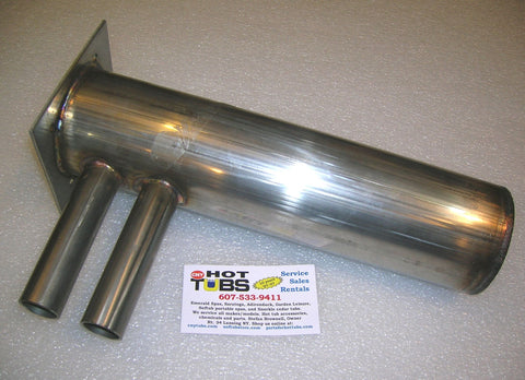 Hot Springs/Watkins Stainless Steel Spa Heater Manifold