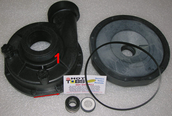 Jacuzzi Spa Pump Housing (Front)
