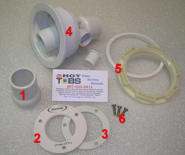 Nozzle CLAMP RING for Jacuzzi AMH Type Jets (#2 IN PHOTO)