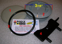 Filter Cap Key/Light Lens Tool for Rainbow Space-Saver II Filter (#3 in PHOTO)