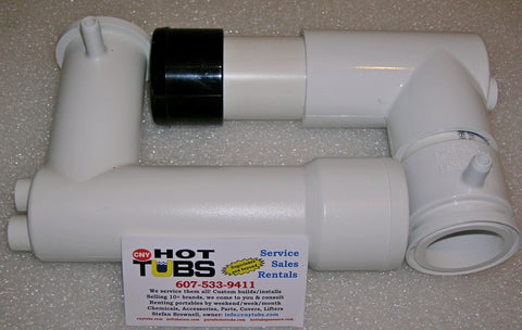 Softub Pump Vertical Discharge Pipe PVC