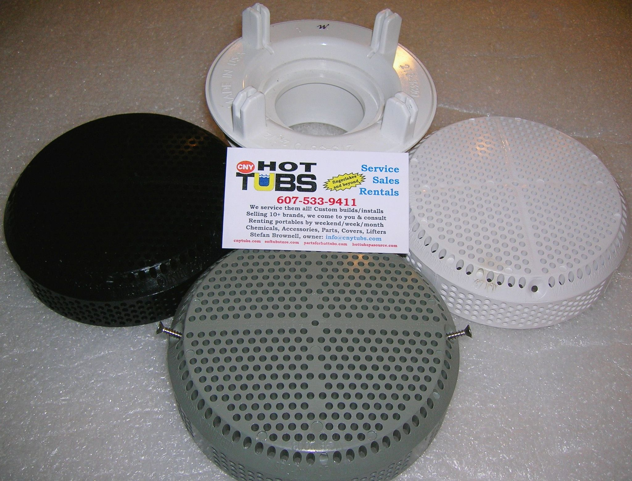 Cover For Waterway Super Hi Flo Suction Fitting