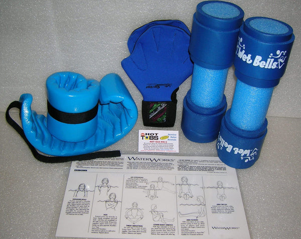 5 Piece Hydrotherapy Workout Kit