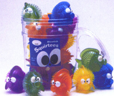 Blow Fish Squirtees Spa Toys