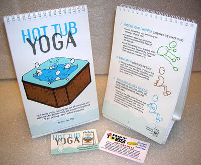 The Hot Tub Yoga Book