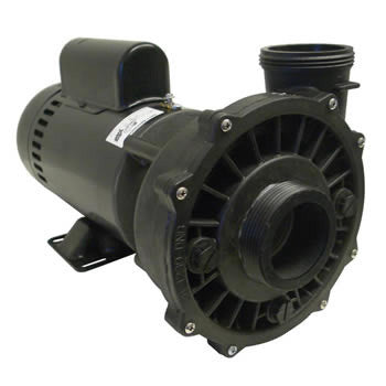 Waterway executive hot tub pump motor complete 2hp for Jacuzzi tub pump motor