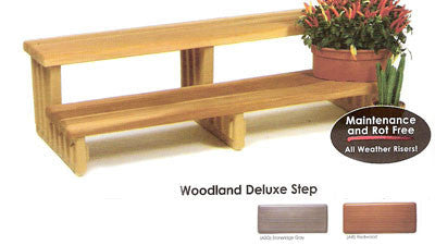 All Seasons Woodland Deluxe Spa Step (Free Shipping)