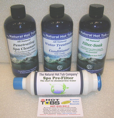 Natural Hot Tub Company Starter Kit