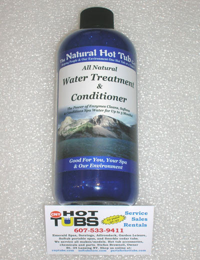 Natural Hot Tub Company Water Treatment & Conditioner 16 oz.