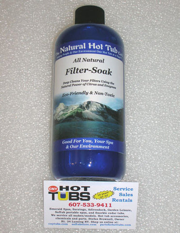 Natural Hot Tub Company Filter Soak 16 oz.