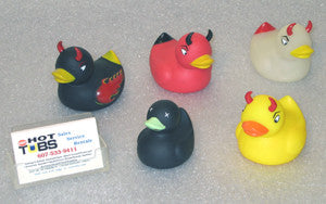 Devil Ducks Spa Toys (Set of 5)