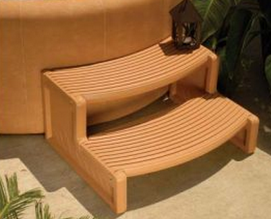 Confer Plastics Curved Handi-Step Spa Steps (Free shipping)