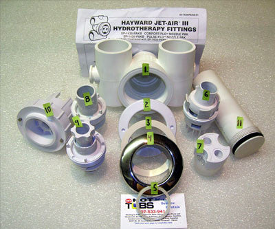 Test Plug for Hayward JET-AIR III Spa Jets