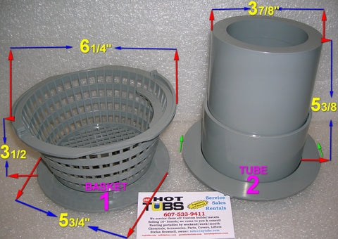 Pentair Spa Skimmer BASKET (#1 in photo)
