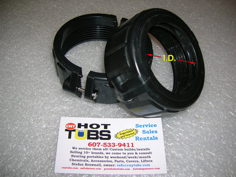 Split Nut Repair Collar 2 inch
